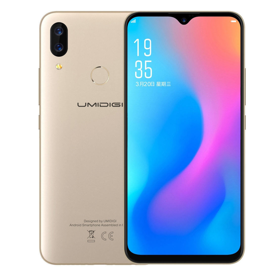 UMIDIGI Power 4GB+64GB 6 3